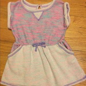 18 months Pink Sweatshirt Dress